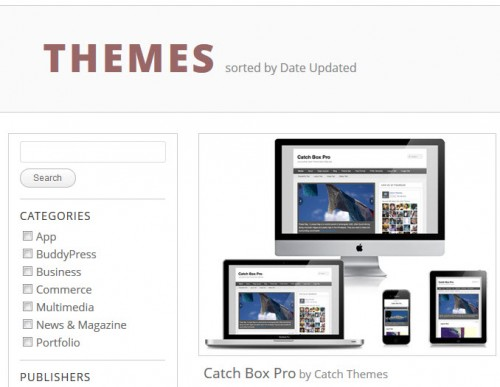 WP App Store Themes