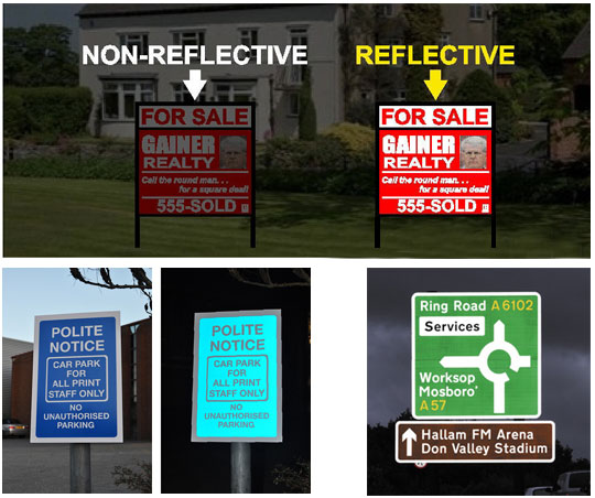 Reflective Signs Wrap City