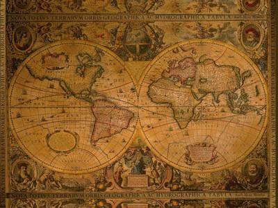 PREMIÄR Picture IKEA With a large picture you can create mood and - new antique world map images