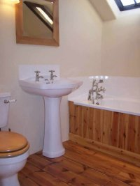 Pine Flooring: Pine Flooring In The Bathroom