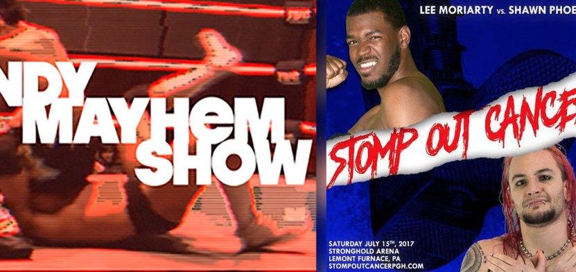NEW! Indy Mayhem Show 169: Shawn Phoenix & Lee Moriarty ( xshawnxphoenix @apexofcombat )