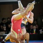 Freestyle wrestler Kyle Dake