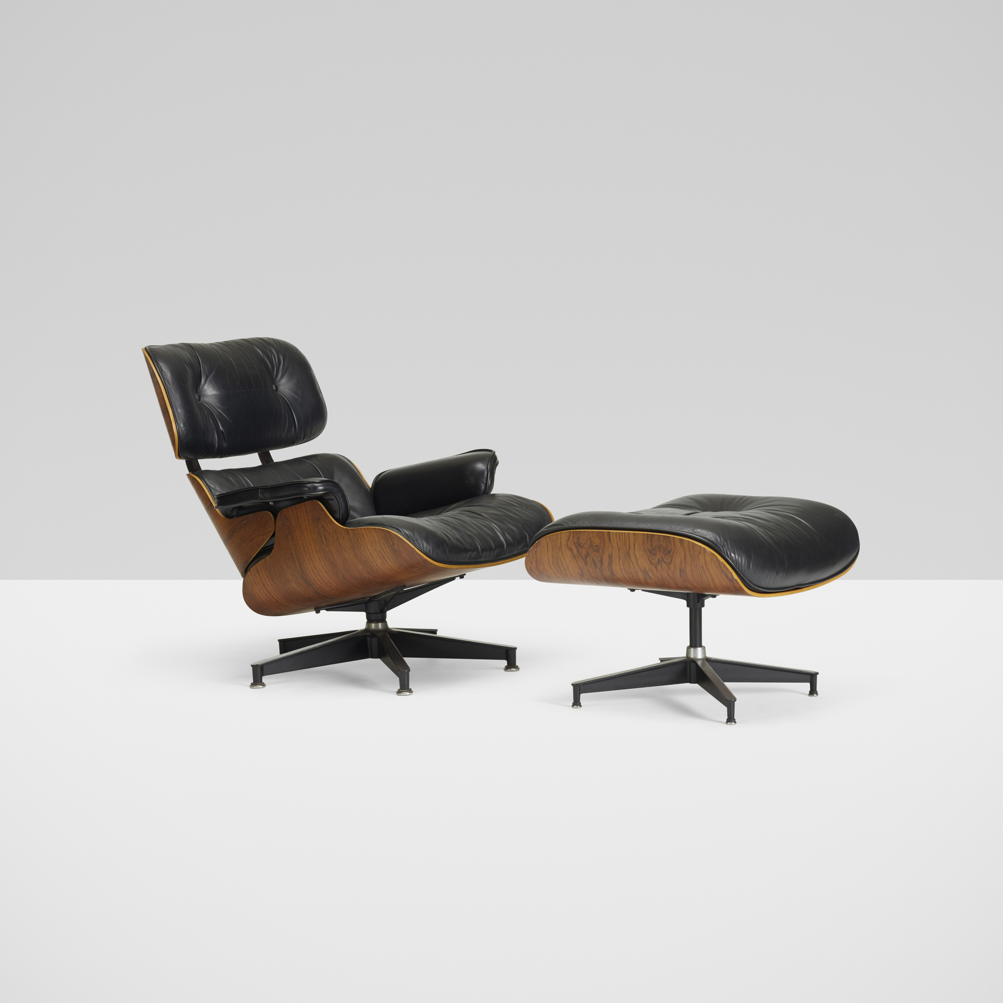 137 Charles And Ray Eames Lounge Chair Model 670 And