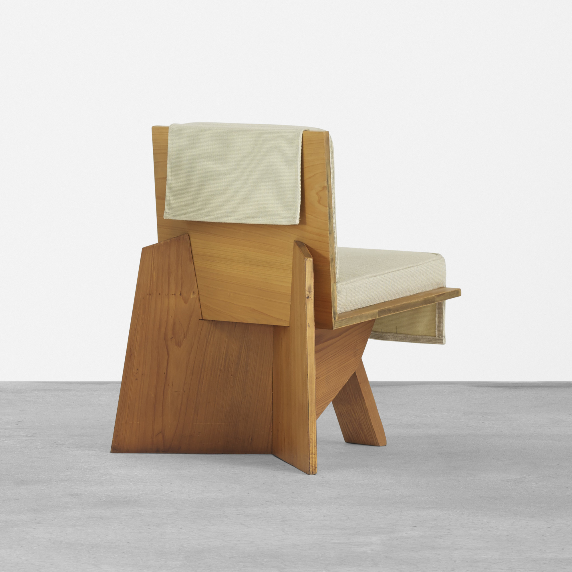 148: FRANK LLOYD WRIGHT, pair of lounge chairs from the
