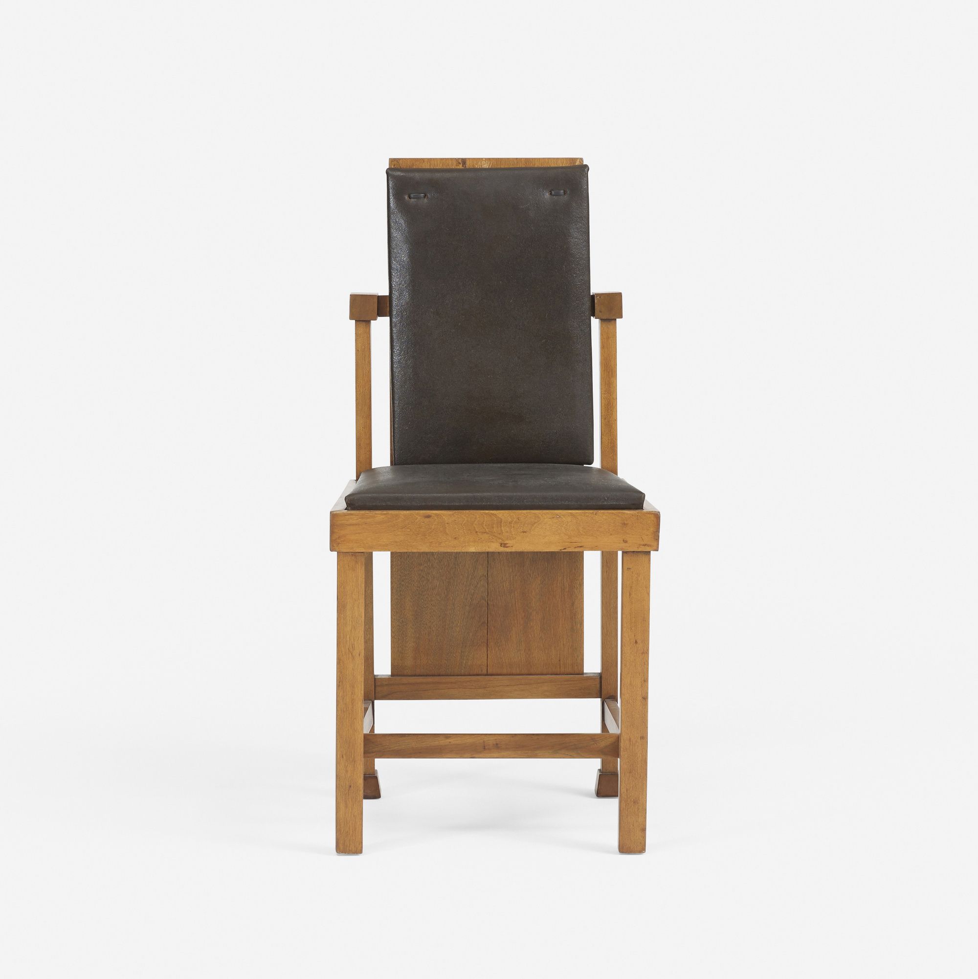 167: FRANK LLOYD WRIGHT, chair from the Avery Coonley