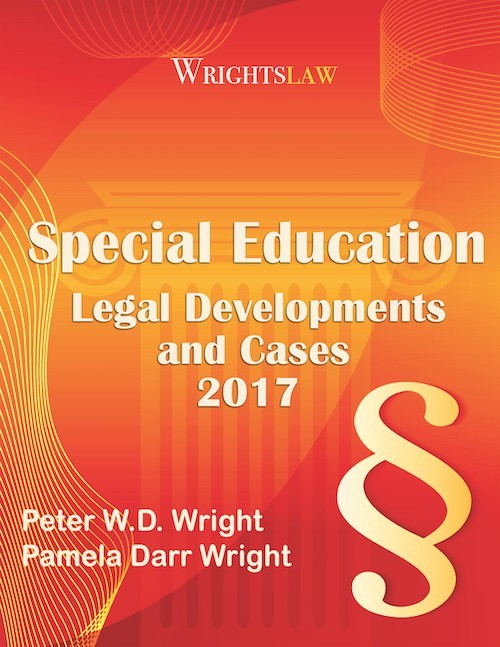 Wrightslaw Special Education Law and Advocacy