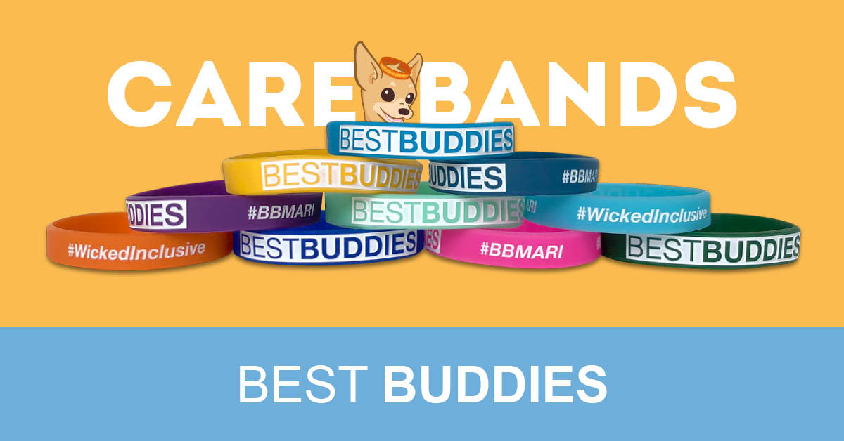 Wristband Bros  The Best Buddies Organization - The Care Bands