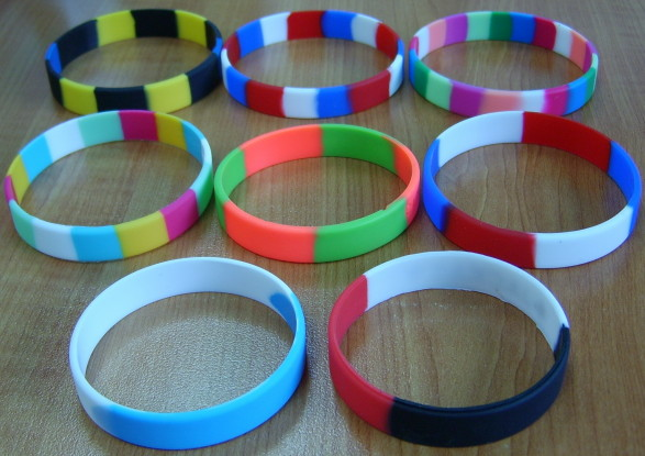 Rubber Bracelets Encourage People To Take Part In A Noble