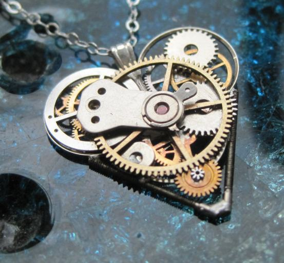 http://www.etsy.com/listing/129192507/heart-necklace-deep-clockwork-gears
