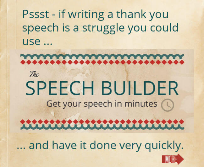 Thank you speech - How to write a sincere appreciation speech