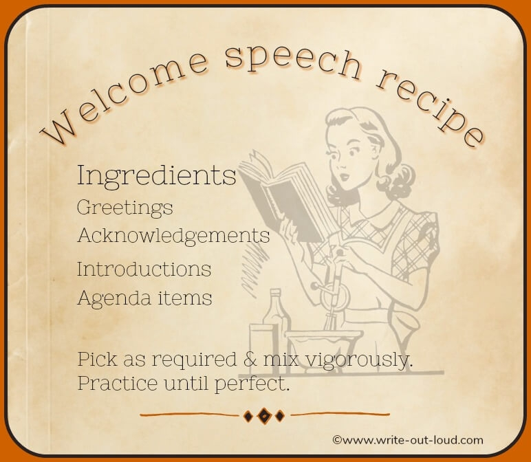 Welcome speech effective opening remarks made easy