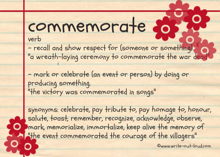 Commemorative speech topic ideas to inspire your audience