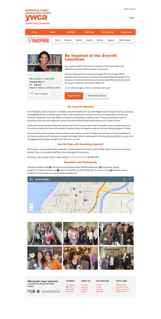 Everett | YWCA Inspire - YWCA Seattle King Snohomish