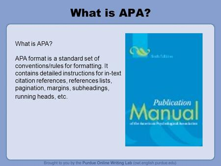 Formatting Your Essay in APA - WriteMyPaperForme