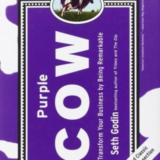 Best Book Marketing Ideas - Seth Godin's Purple Cow