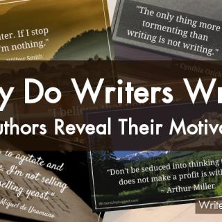 Why Do Writers Write