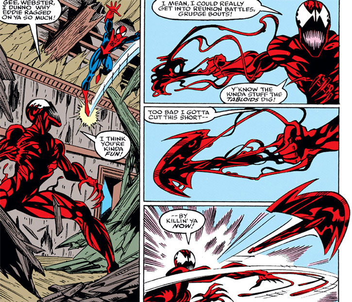Amazing Spiderman Wallpaper Quotes Carnage Marvel Comics Spider Man Enemy Character