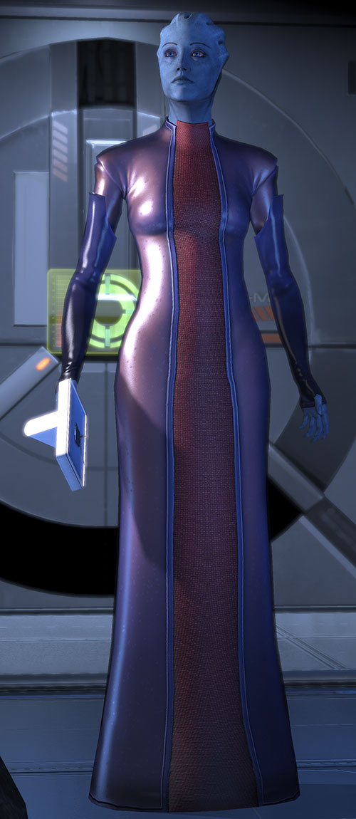 3d Devil Wallpaper Liara T Soni Mass Effect 2 Character Profile