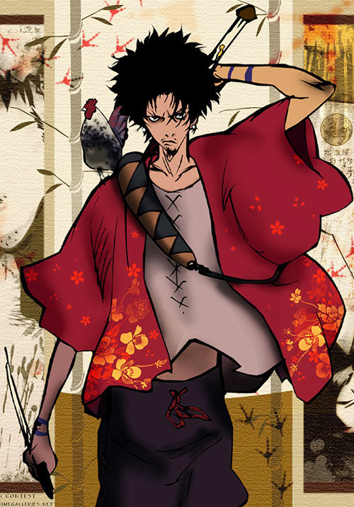 Hell Quotes Wallpapers Mugen Samurai Champloo Manglobe Character Notes Dc