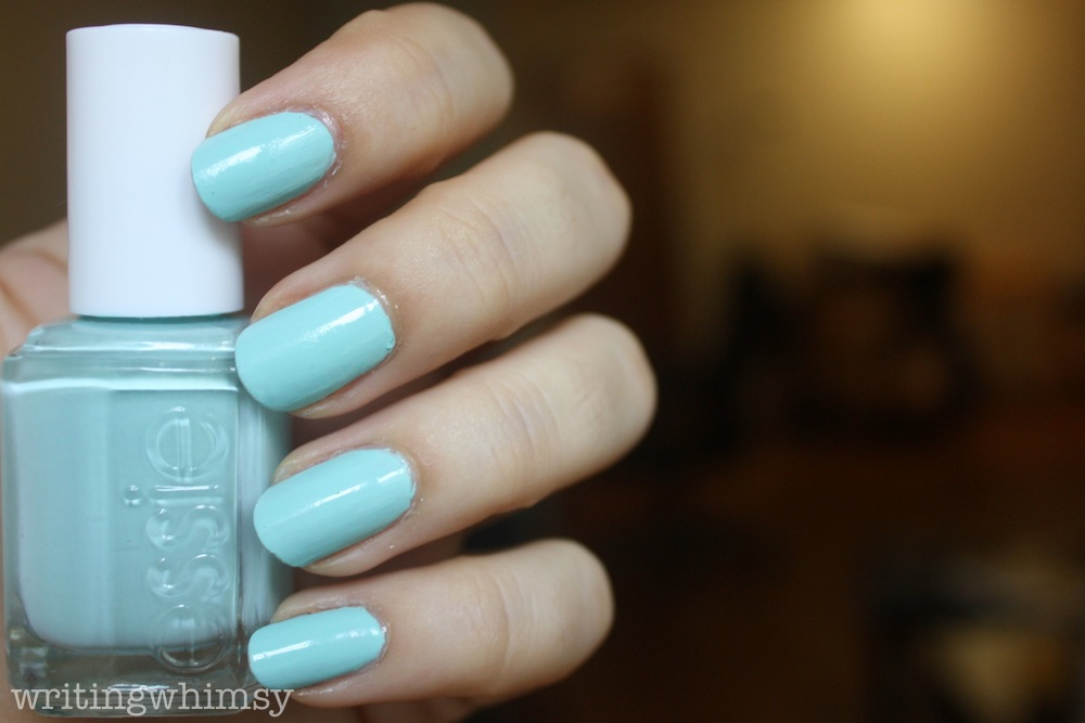 Essie Mint Candy Apple Swatch And Review Writing Whimsy