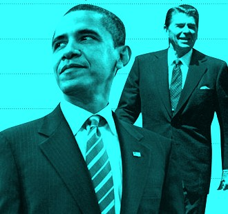 reagan revolution through president obama They called it the 'reagan revolution', and well, i will accept that, said   president barack obama refers to ronald reagan and his legacy.