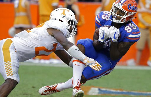 Orange and Blue Preview Gator Wide Receivers