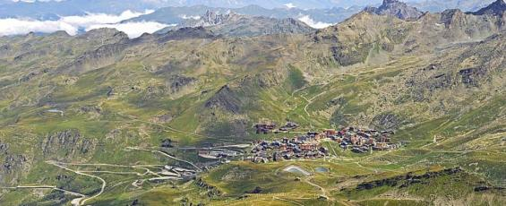 Val Thorens 2300m, plus haute station d'Europe
