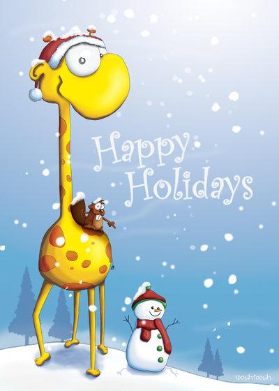happy_holidays_giraffe_card_by_tooshtoosh