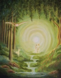 Between the Worlds - Copyright Bernadette Wulf