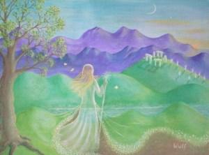 Brigit's Mantle - copyright Bernadette Wulf