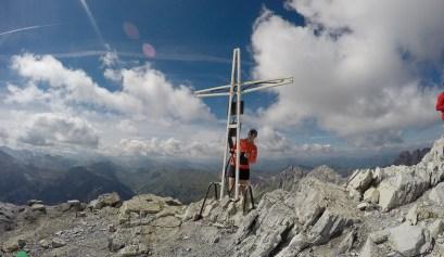 Gipfel des Großen Mosermandl (2680m)