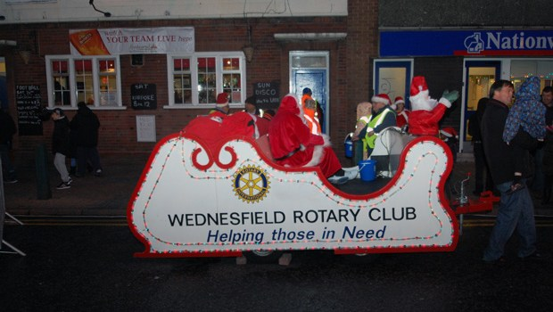 Wednesfield Lights 2012  (9)