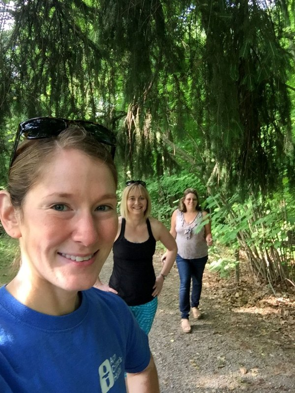 Leslee, Laurie and I at Core Arboretum