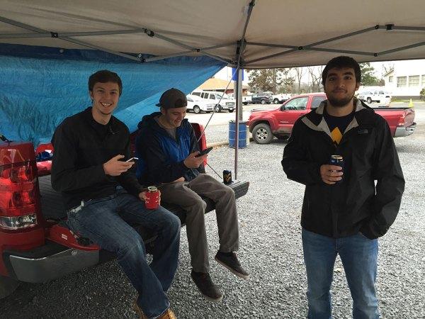 WVU vs. Iowa State game day