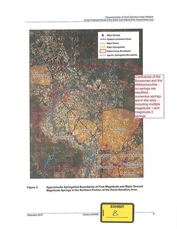 600x776 No springs identified by Sabal Trail at confluence of the Suwannee and the Withlacoochee, in TSE Plantation against Sabal Trail pipeline, by Thomas S. Edwards, Jr., for WWALS.net, 29 January 2015