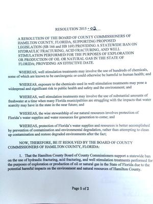 300x400 WHEREAS, in Resolution to ban fracking in Florida, by Hamilton County BOCC, for WWALS.net, 3 March 2015