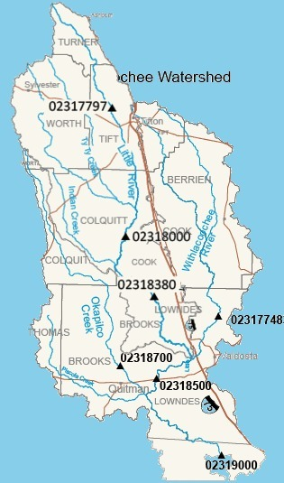 Withlacoochee and Little River watershed