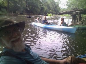 WWALS at the proposed Sabal Trail Withlacoochee River crossing just upstream from US 84