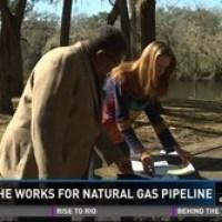 A 3-foot pipeline through the windows to our aquifer is a very bad idea --Debra Johnson on FirstCoastNews, 2016-02-11