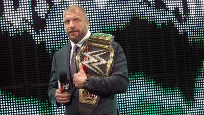 But Triple H says that will never come.
