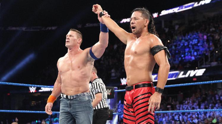 It's been an up and down week for John Cena already