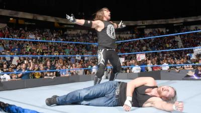 """""""The champ that runs the camp"""" returns to SmackDown to make a statement to his No Mercy opponents."""