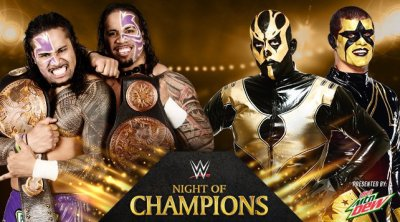 WWE Tag Team Champions Jimmy & Jey Uso vs. Gold and Stardust