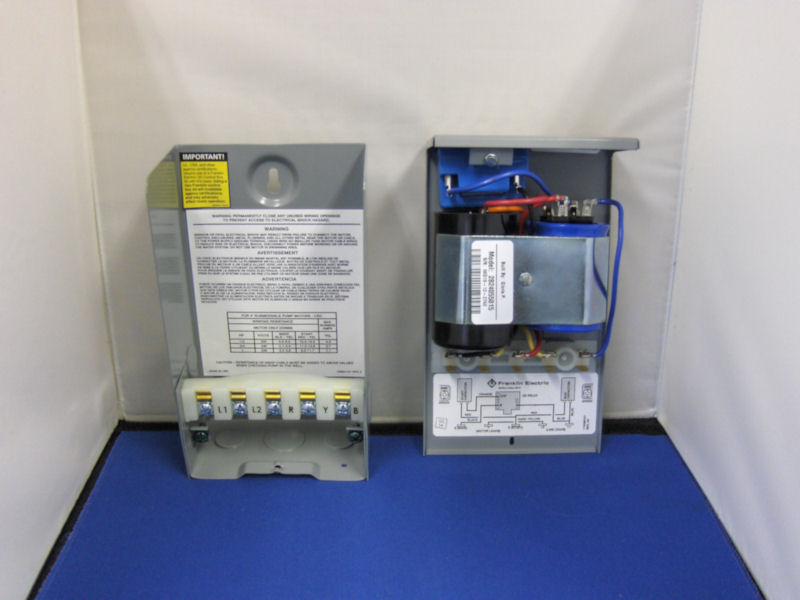 Franklin Electric 1HP 230V CRC Control Box