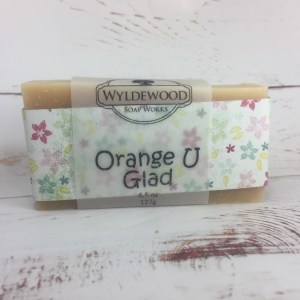 Orange U Glad Soap with Goat Milk