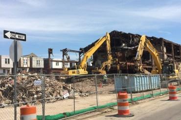 Wynne Ballroom Demolition Update