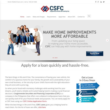 Online Services - Conglomerate Securities and Financing Corporation Online Portfolio