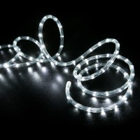 100' Cool White LED Rope Light - Home Outdoor Christmas ...