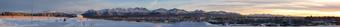 Chugiach Mountains 4:11pm 12-29-09