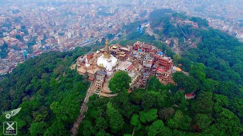Nepal Earthquake from UAV drone